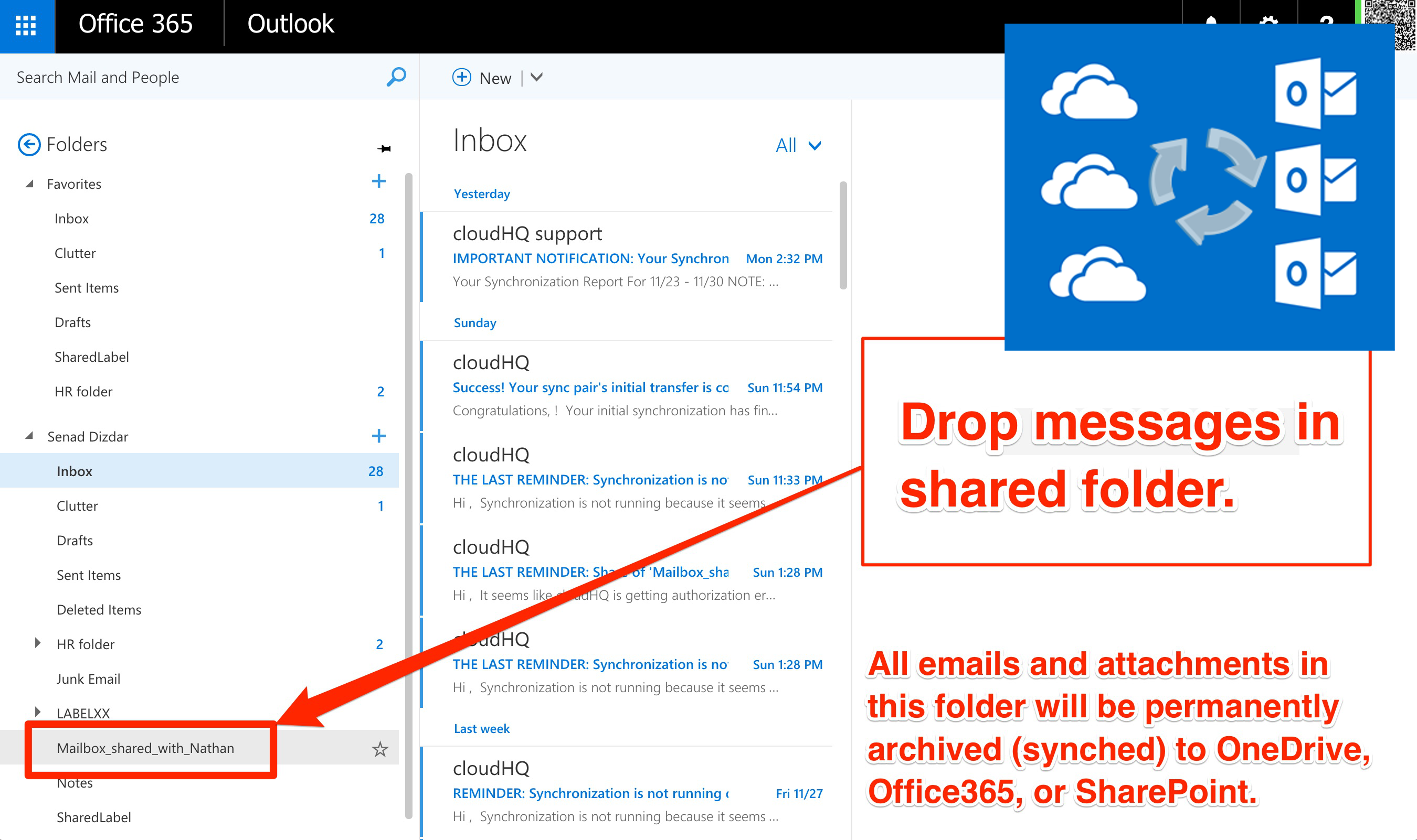 Teams Are Comfortable with Email, but Not OneDrive or SharePoint