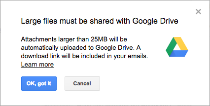 To share big files send a link instead of sharing the folder
