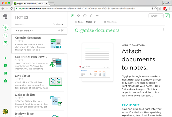 cloudHQ_NoteApps_1_Evernote Screenshot