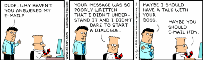 Photo Credit: www.dilbert.com
