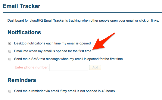 Free Email tracker