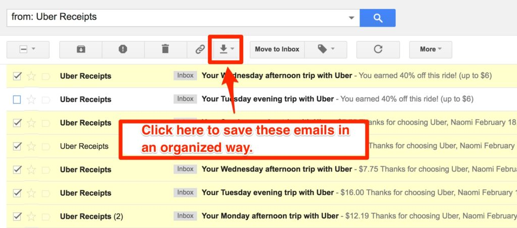 how to select read receipt on gmail