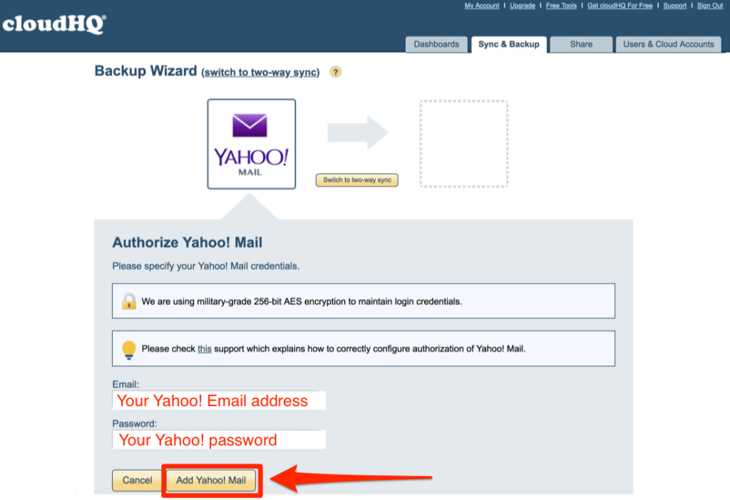 how can i open my yahoo mail without password