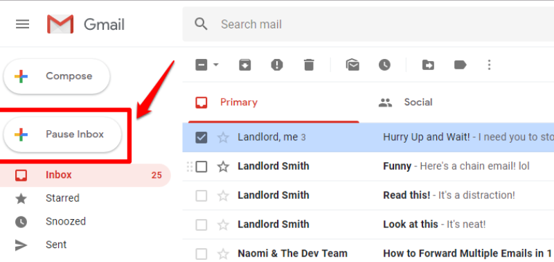 Free: Pause Gmail Inbox and Be More Productive | cloudHQ Blog