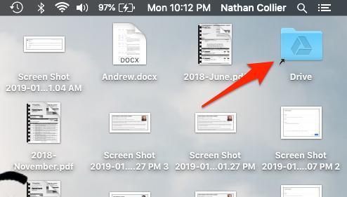Drive Folder