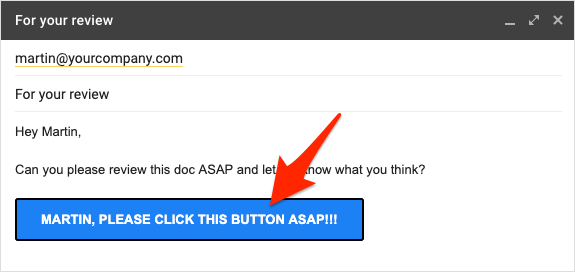 Gmail Button CTA
