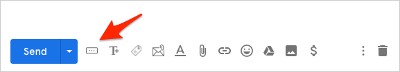Gmail Button Icon