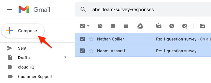 Compose new email
