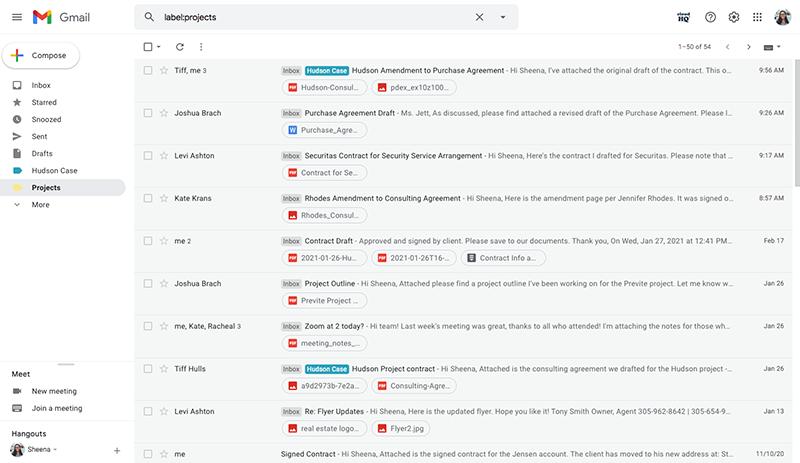 Gmail label
